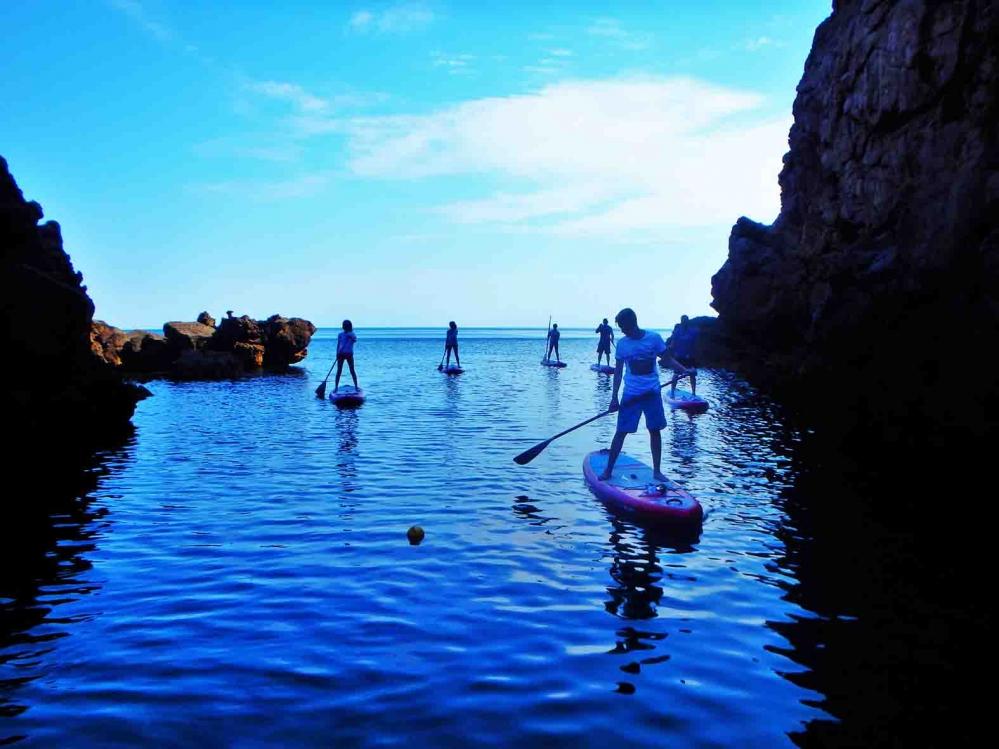 Descubre las calas de Mallorca en Paddle Surf