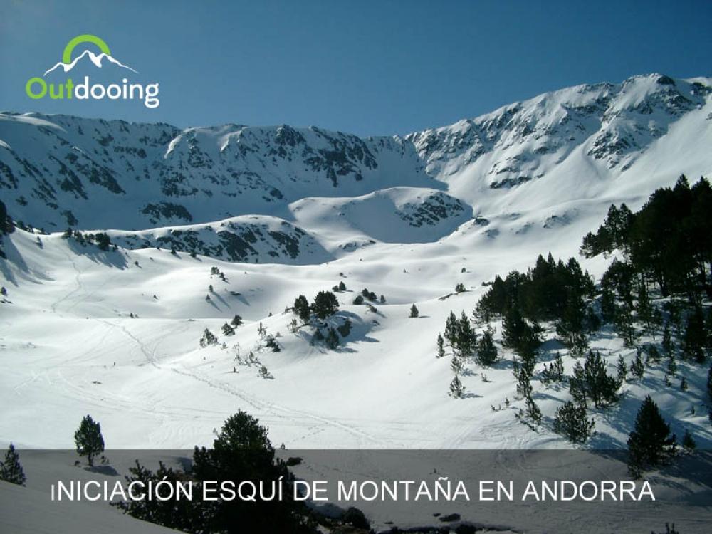 Iniciación esquí de montaña con Guía en Andorra