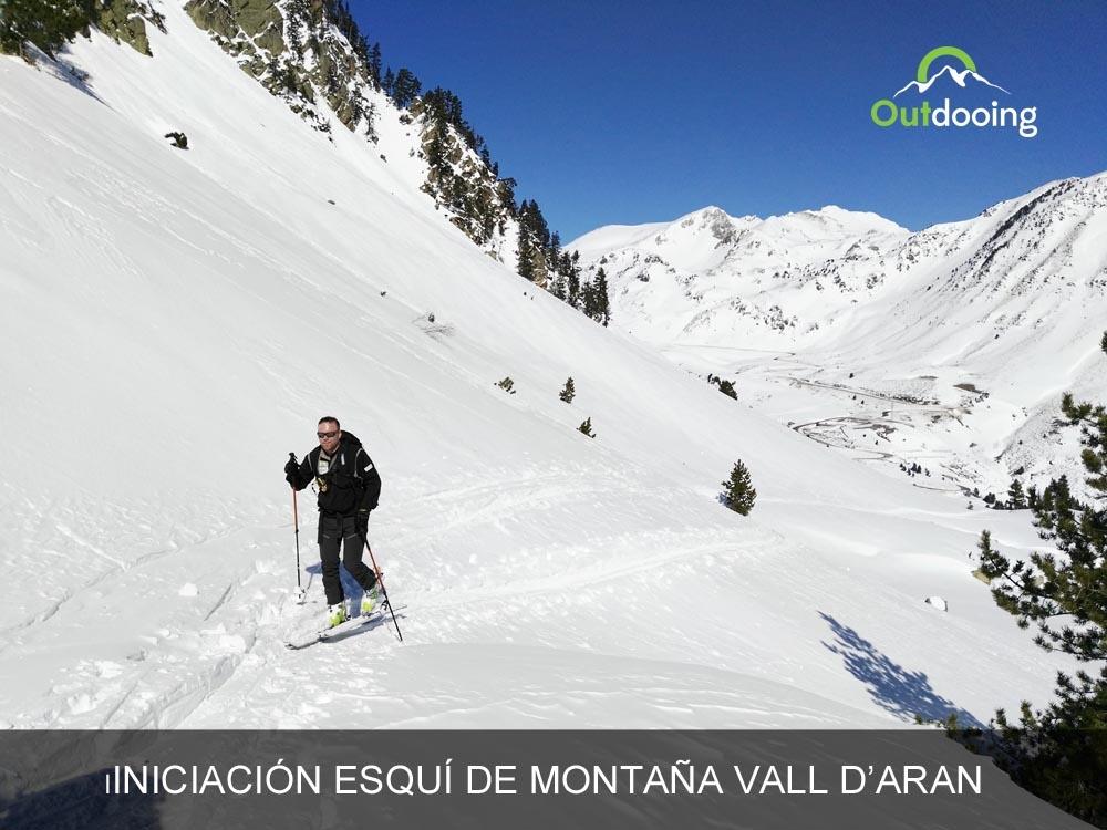 Iniciación esquí de montaña con Guía en Vall d'Aran